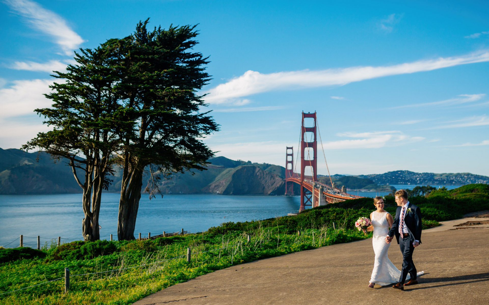Trevor + Marina - Married in the Presidio!