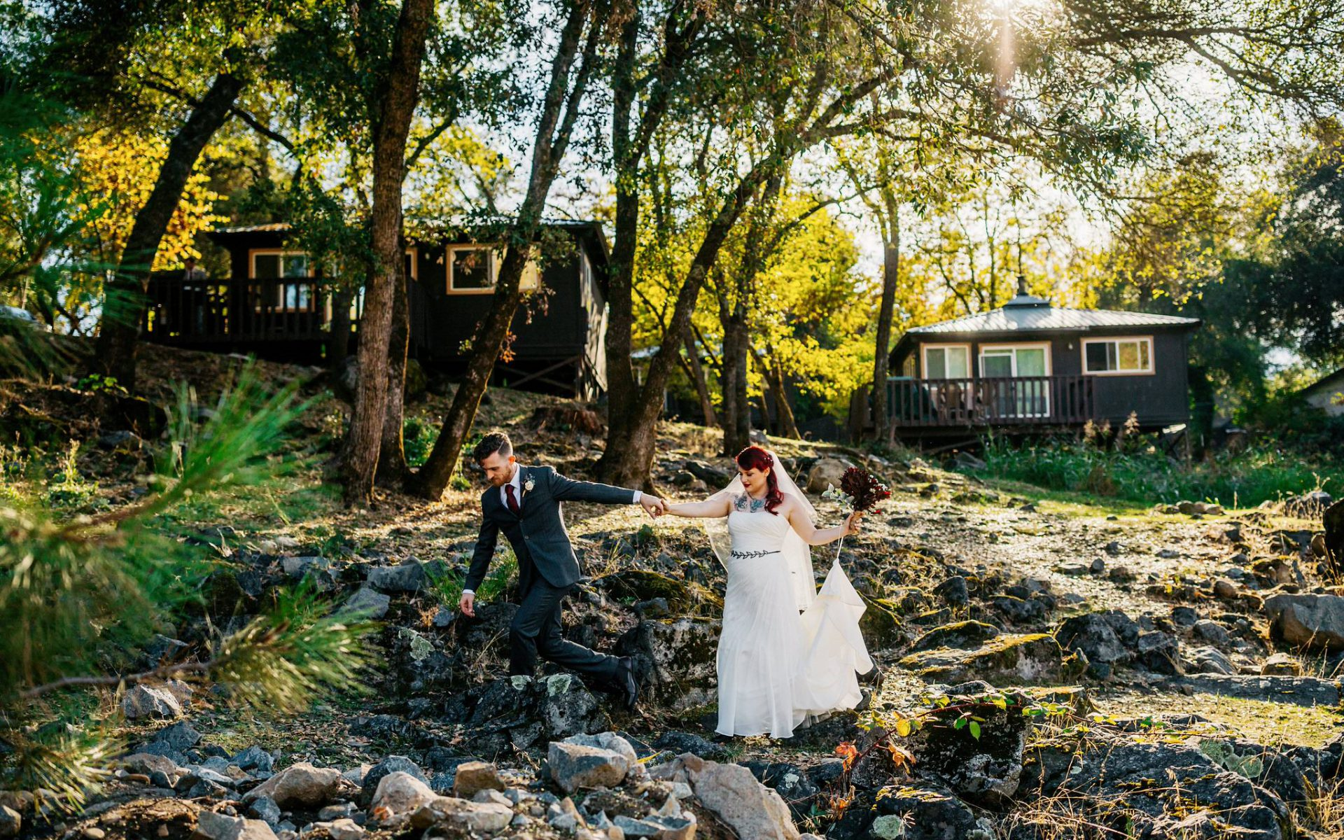 Brandon + Rhiannon - Love on the river!