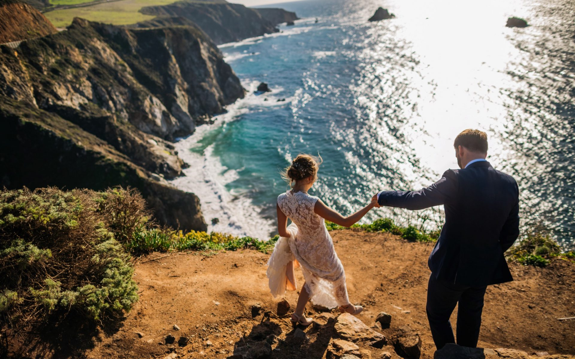 Aaron + Meghan - love in Big Sur!