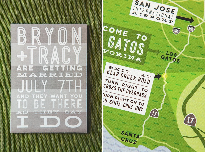 Green Grey Modern Fun Wedding Invitations The Goodness 003a