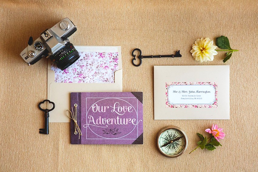 Travel Adventure Book Wedding Invitations The Goodness 002