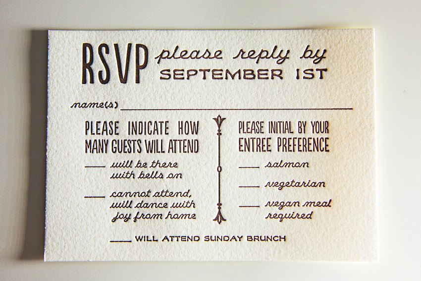 Watercolor Letterpress Wedding Invitations The Goodness 012