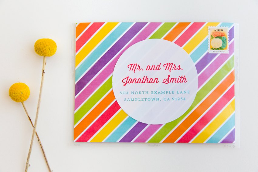 Colorful Travel Desserts Wedding Design 014 3