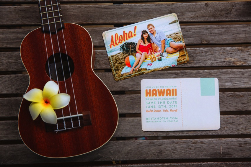 Hawaii Save the Date Postcard The Goodness 001